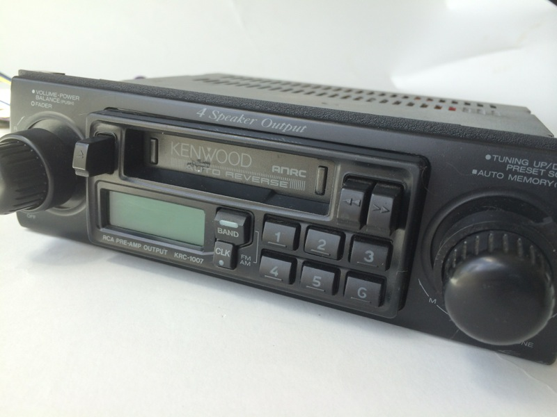 Cassette player car stereo